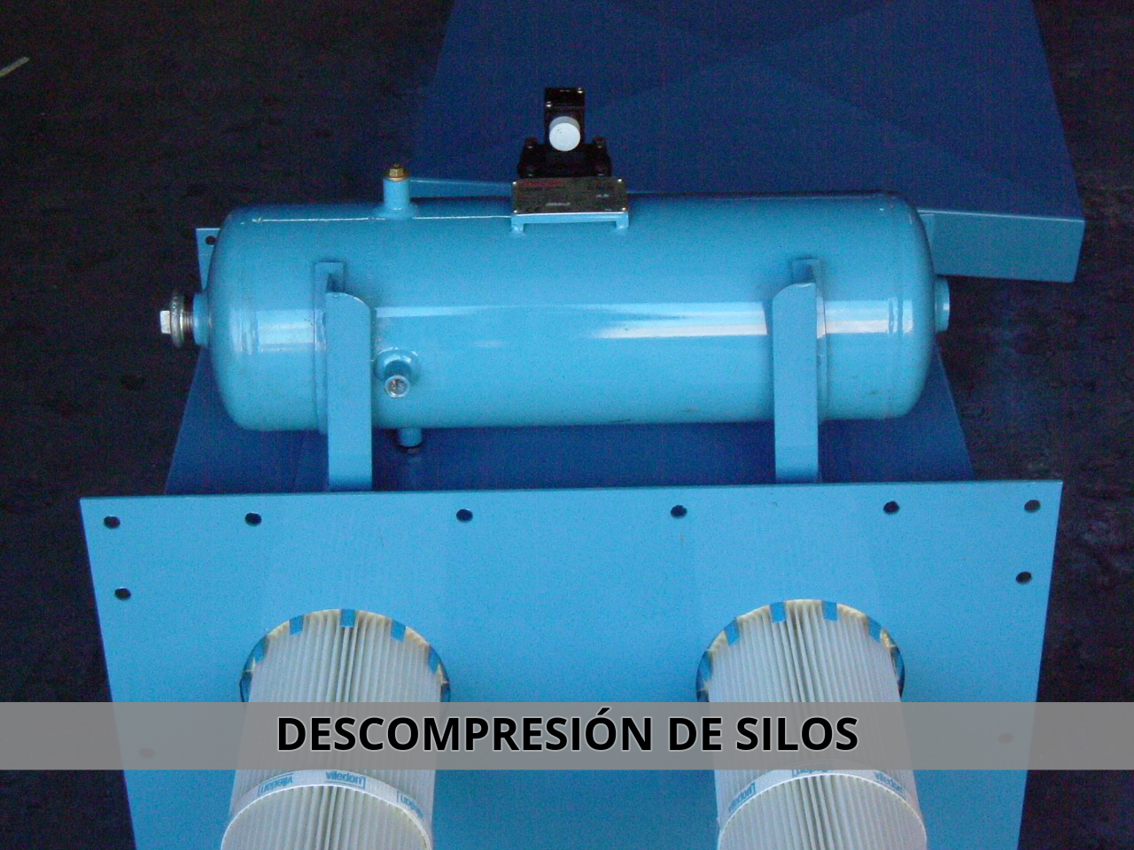 Filtros de descompresión de silos