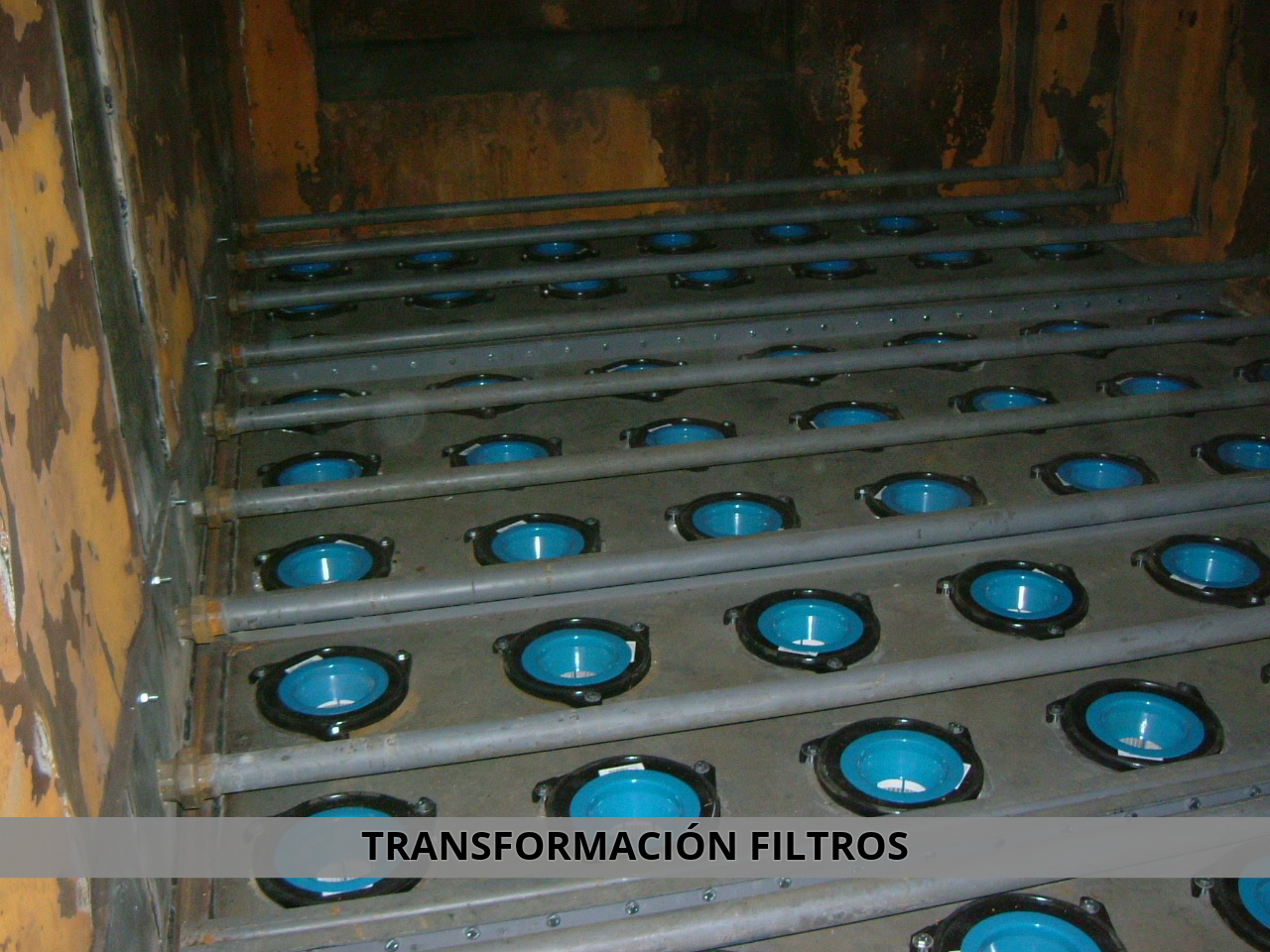 Transformación de filtros