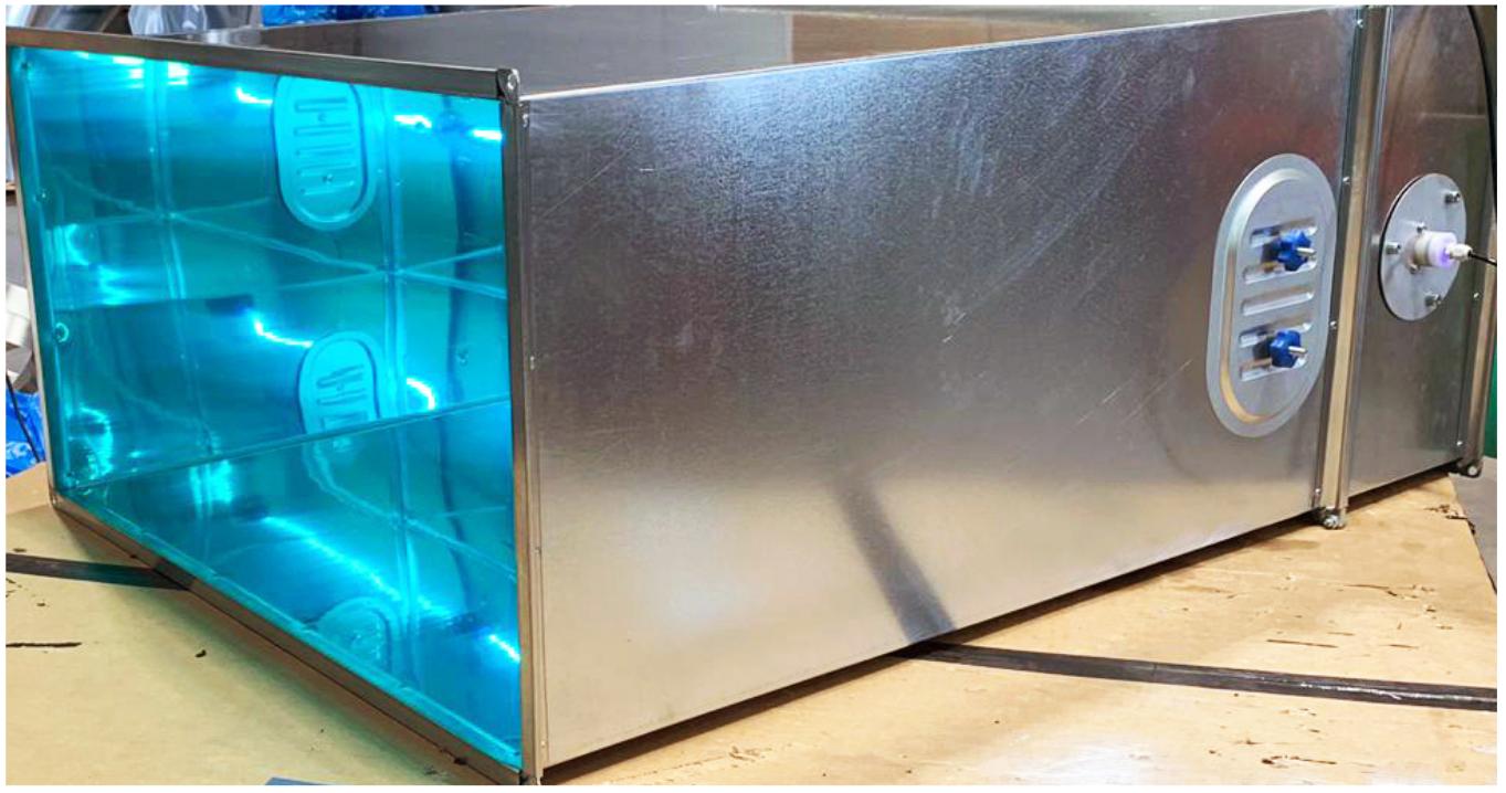 Purificador de aire MTX rayos UVC
